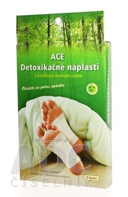 ACE detoxikačné náplasti ANEŽKA CENTRUM 1x8 ks