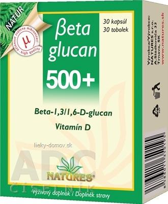 NATURES Betaglucan 500+ cps 1x30 ks
