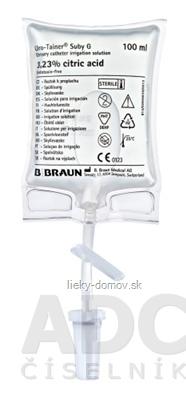 B.BRAUN Uro-Tainer Suby G preplachovací roztok urolog. katétrov (FB99839) 10x100 ml