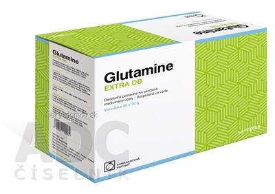 Glutamine EXTRA DB prášok vo vrecúškach (pomarančová príchuť) 30x20 g (600 g)