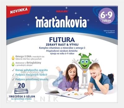 WALMARK Marťankovia FUTURA 6-9 vrecúška s gélom 1x20 ks
