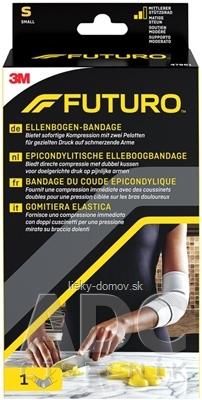 3M FUTURO Bandáž na lakeť [SelP] veľkosť S, s epikondylárnou páskou (47861) 1x1 ks