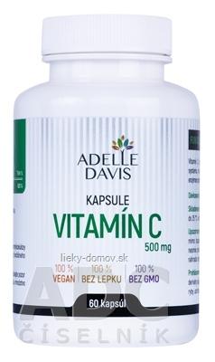ADELLE DAVIS VITAMÍN C 500 mg cps 1x60 ks