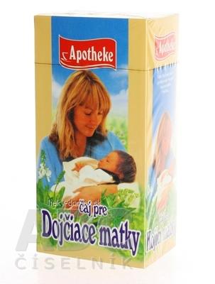 APOTHEKE ČAJ PRE DOJČIACE MATKY 20x1,5 g (30 g)