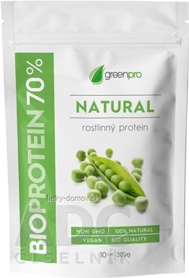 BIOPROTEIN 70% GreenPro NATURAL prášok na prípravu nápoja 1x300 g