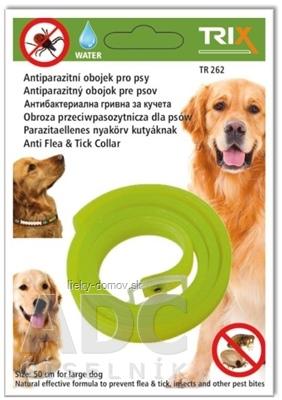TRIX TR262 Antiparazitný obojok pre psov, dĺžka 50 cm, 1x1 ks