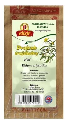 AGROKARPATY DVOJZUB TROJDIELNY vňať bylinný čaj 1x30 g