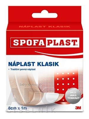 3M SPOFAPLAST č.264 Klasik Textilná náplasť rýchloobväz, 8cmx1m, pás, 1x1 ks