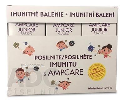 AMPCARE JUNIOR CLASSIC IMUNITNÉ BALENIE sirup 3x150 ml