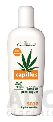 Cannaderm CAPILLUS - šampón proti lupinám NEW 1x150 ml