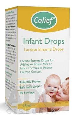 Colief Infant Drops Lactase Enzyme kvapky do mlieka 1x15 ml