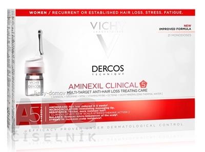 VICHY Dercos Aminexil Clinical 5 pre ženy (M9120400) 21x6 ml
