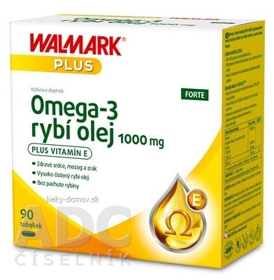 WALMARK Omega 3 rybí olej FORTE cps 1x90 ks