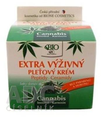 BC BIO Cannabis PLEŤOVÝ KRÉM Extra výživný 1x51 g