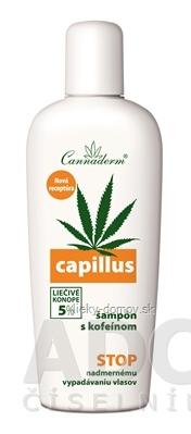 Cannaderm CAPILLUS - šampón s kofeínom NEW pri vypadávaní vlasov 1x150 ml