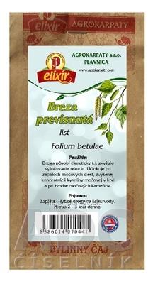 AGROKARPATY BREZA list bylinný čaj 1x30 g