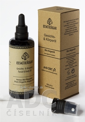 BIO Arganový kozmetický olej pleťový a telový 1x100 ml