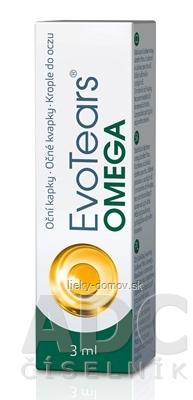 EvoTears Omega očné kvapky 1x3 ml