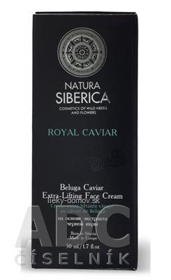 NATURA SIBERICA ROYAL CAVIAR Extra-Liftingový krém s kaviárom z Belugy 1x50 ml