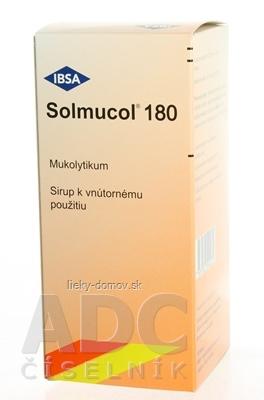 Solmucol 180 ml plv sir (liek.PE) 1x180 ml
