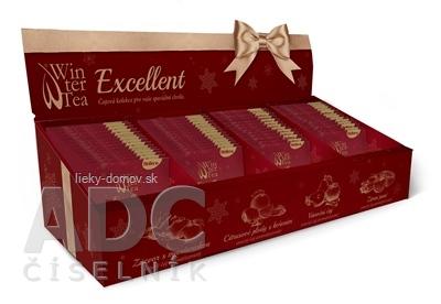 Winter Tea Excellent kolekcia 4 druhov ovocných čajov po 15 vrecúšok, 1x60 ks