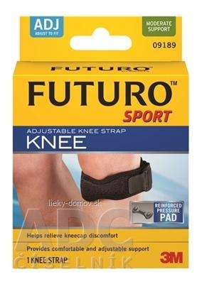 3M FUTURO SPORT podporný popruh na koleno pevná opora, (09189) 1x1 ks