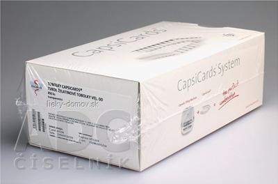CapsiCards žel. kapsule vel´. 00 - FAGRON transparentné 850 ks kartón 17x50 ks (1 bal.), 1x1 set