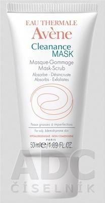 AVENE CLEANANCE MASK (MASQUE - GOMMAGE) exfoliačná maska - peeling 1x50 ml