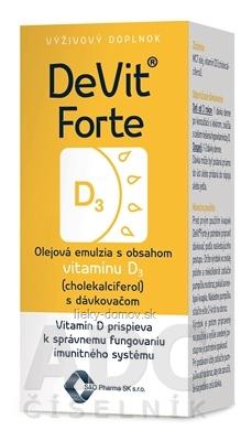 DeVit Forte kvapky 1x22 ml