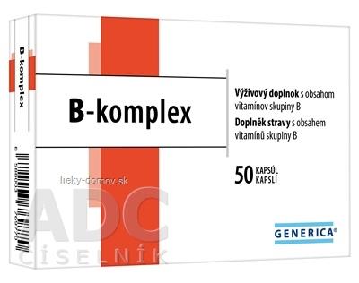 GENERICA B-komplex cps 1x50 ks