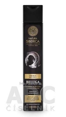 NATURA SIBERICA BELUGA Shampoo šampón - aktivátor proti vypadávaniu vlasov Beluga, 1x250 ml
