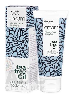ABC tea tree oil FOOT CREAM - Krém na suché nohy 1x100 ml