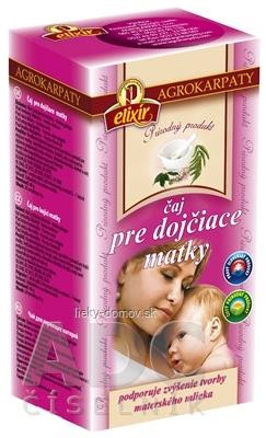 AGROKARPATY Čaj pre dojčiace matky prírodný, bylinný čaj 20x2 g (40 g)