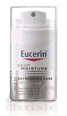 Eucerin MEN hĺbkovo hydratačný krém pre mužov 1x50 ml