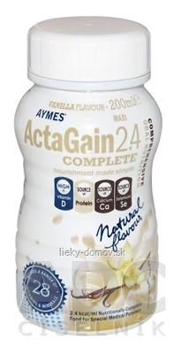 ActaGain 2.4 COMPLETE vanilková príchuť 24x200 ml