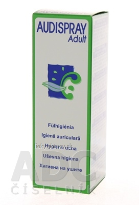 AUDISPRAY Adult Hygiena uší sprej 1x50 ml
