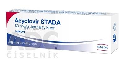 Acyclovir STADA crm der (tuba Al) 1x2 g
