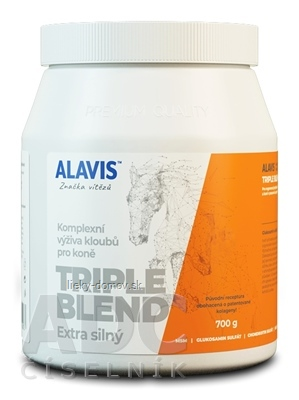 ALAVIS TRIPLE BLEND Extra silný prášok 1x700 g