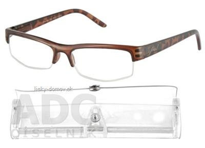 American Way okuliare na čítanie hnedé, +1,50 1x1 ks