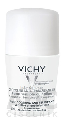 VICHY DEODORANT ANTI-PERSPIRANT 48H Roll-on antiperspirant (M5907903) 1x50 ml