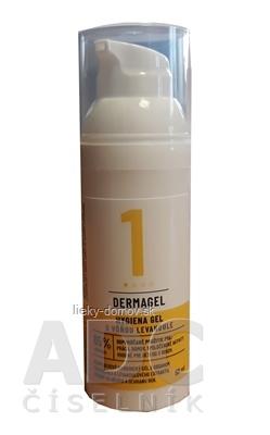 DERMAGEL - Hygiena gel s vôňou levandule 1x50 ml