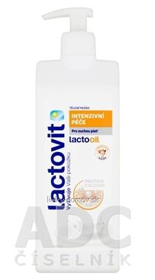 Lactovit Lactooil Telové mlieko Intenzívna starostlivosť, na suchú pleť 1x400 ml
