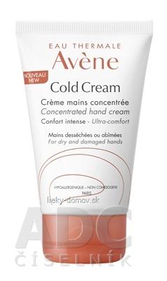 AVENE COLD CREAM CRÈME MAINS CONCENTRÉE (inovácia) koncentrovaný krém na ruky 1x50 ml