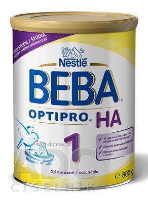 BEBA OPTIPRO HA 1 (inov. zloženie 2018)(počiatočná výživa dojčiat od narodenia) 1x800 g