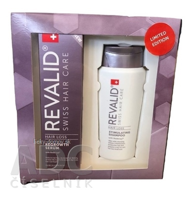 REVALID Anti Hair Loss Promo Set (REVALID REGROWTH SERUM 50 ml + darček: REVALID STIMULATING SHAMPOO 75 ml zadarmo)