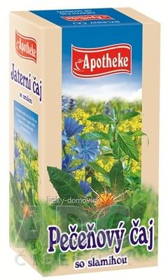 APOTHEKE PEČEŇOVÝ ČAJ SO SLAMIHOU 20x1,5 g (30 g)