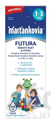 WALMARK Marťankovia FUTURA 1-3 sirup 1x125 ml