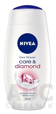 NIVEA SPRCHOVÝ GÉL Care&Diamond 1x250 ml