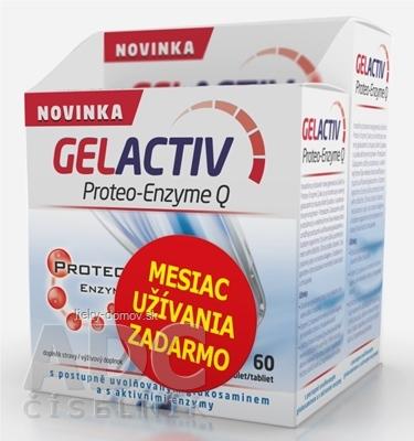 GELACTIV Proteo-Enzyme Q tbl 120+60 zadarmo (180 ks)