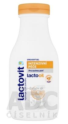 Lactovit Lactooil Sprchový gél intenzívna starostlivosť, na suchú pleť 1x300 ml